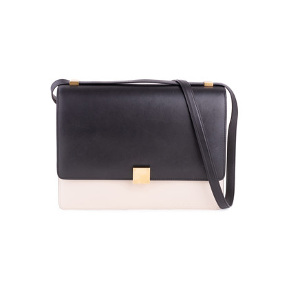 Authentic Second Hand Céline Bi-colour Case Flap Bag (PSS-117-00003)
