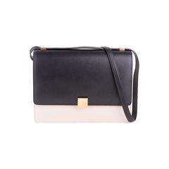 Bi-colour Case Flap Bag