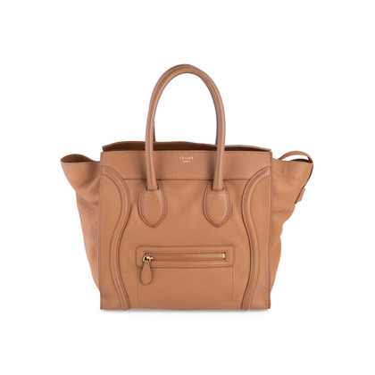 Authentic Second Hand Céline Mini Luggage Tote (PSS-117-00006)