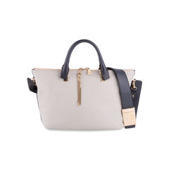 Baylee Medium Two-tone Leather Tote