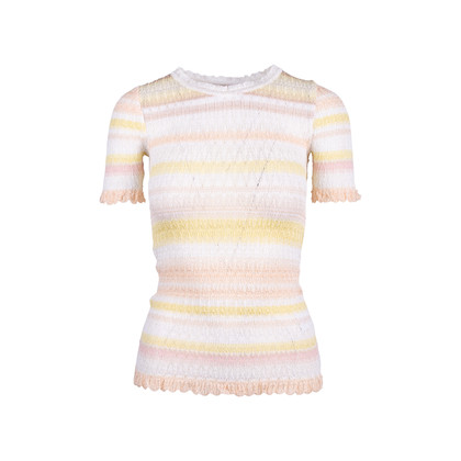 Authentic Second Hand Missoni Crochet Knit Top (PSS-117-00020)