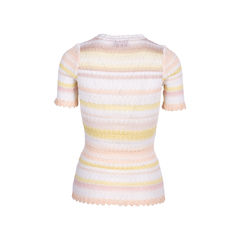 Missoni crochet knit top multicolour 2?1554192022