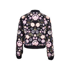 Needle thread embellished embriodered jacket 2?1554192058