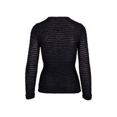 Chanel sheer knitted top 2?1554192188