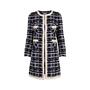 Authentic Second Hand Edward Achour Paris Tweed Coat (PSS-117-00029) - Thumbnail 0