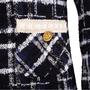 Authentic Second Hand Edward Achour Paris Tweed Coat (PSS-117-00029) - Thumbnail 2