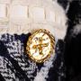 Authentic Second Hand Edward Achour Paris Tweed Coat (PSS-117-00029) - Thumbnail 3
