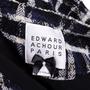 Authentic Second Hand Edward Achour Paris Tweed Coat (PSS-117-00029) - Thumbnail 4
