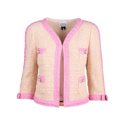 Authentic Second Hand Edward Achour Paris Tweed Jacket (PSS-117-00028)