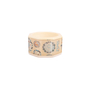 Authentic Second Hand Fendi Floral Acrylic Bangle (PSS-420-00077) - Thumbnail 1
