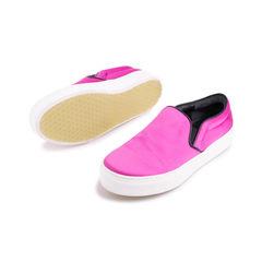 Celine satin slip on sneakers 2?1554274329