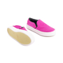 Authentic Second Hand Céline Satin Slip-On Sneakers (PSS-420-00082) - Thumbnail 2