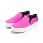 Authentic Second Hand Céline Satin Slip-On Sneakers (PSS-420-00082) - Thumbnail 3