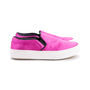 Authentic Second Hand Céline Satin Slip-On Sneakers (PSS-420-00082) - Thumbnail 4