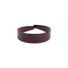 Burgundy Plastic Hairband