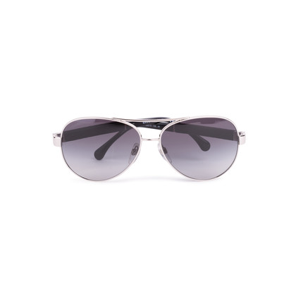 Authentic Second Hand Chanel Quilted Lambskin Aviator Sunglasses (PSS-584-00004)