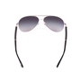 Authentic Second Hand Chanel Quilted Lambskin Aviator Sunglasses (PSS-584-00004) - Thumbnail 3