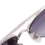 Authentic Second Hand Chanel Quilted Lambskin Aviator Sunglasses (PSS-584-00004) - Thumbnail 7