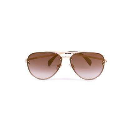Authentic Second Hand Céline Mirror Aviator Sunglasses (PSS-584-00009)