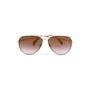 Authentic Second Hand Céline Mirror Aviator Sunglasses (PSS-584-00009) - Thumbnail 0