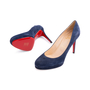 Authentic Second Hand Christian Louboutin Filo Suede Pumps (PSS-340-00167) - Thumbnail 1