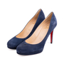 Authentic Second Hand Christian Louboutin Filo Suede Pumps (PSS-340-00167) - Thumbnail 3