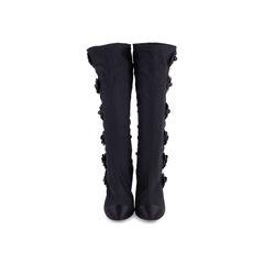 Camellia Satin Sock Boots