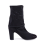 Authentic Second Hand Chanel Camellia Satin Sock Boots (PSS-200-01627) - Thumbnail 3