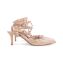 Authentic Second Hand Valentino Nude Rockstud Cage Pumps (PSS-200-01631) - Thumbnail 4