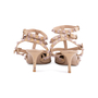 Authentic Second Hand Valentino Nude Rockstud Cage Pumps (PSS-200-01631) - Thumbnail 5