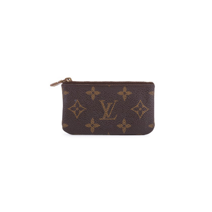 Authentic Second Hand Louis Vuitton Monogram Key Pouch (PSS-200-01634)