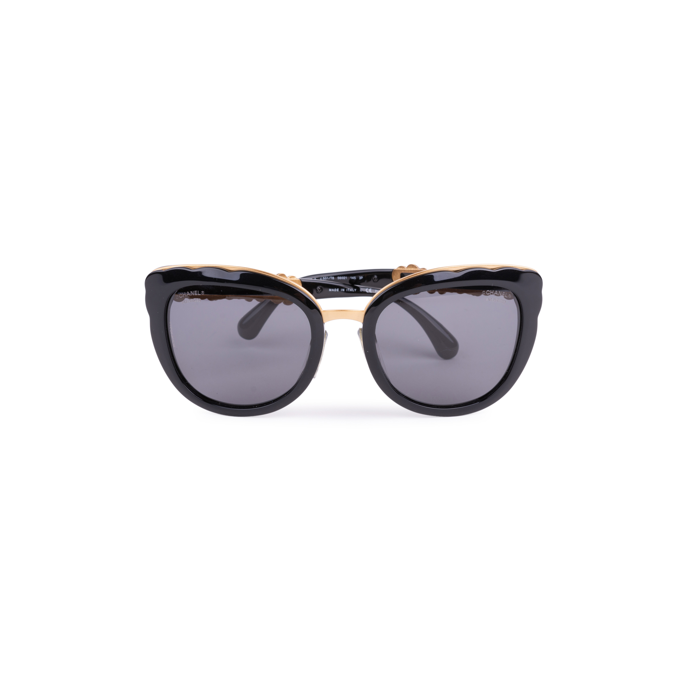 a492694ab0 Authentic Second Hand Chanel Bijou Cat Eye Sunglasses (PSS-200-01633) - THE  FIFTH COLLECTION