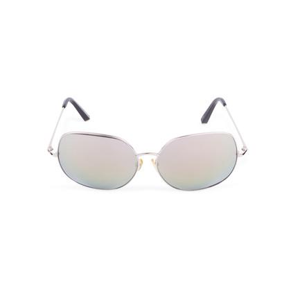 Authentic Second Hand Matthew Williamson Oversized Mirrored Sunglasses (PSS-200-01643)