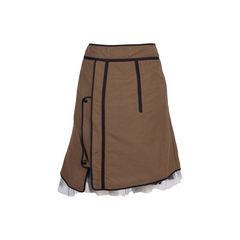Marni double a line skirt multicolour 2?1554890854