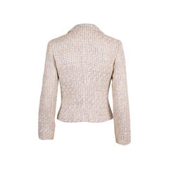 Emporio armani metallic tweed jacket 2?1554893248