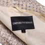 Authentic Second Hand Emporio Armani Metallic Tweed Jacket (PSS-642-00005) - Thumbnail 3