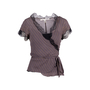 Authentic Second Hand Diane Von Furstenberg Tabby Two-Piece Top (PSS-642-00006) - Thumbnail 0