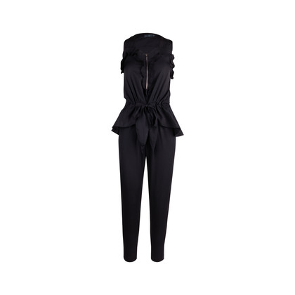 Authentic Second Hand McQ Alexander Mcqueen Ruffled Jumpsuit (PSS-132-00143)