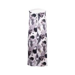 Helmut lang strapless print dress 2?1554893849