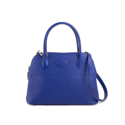 Authentic Second Hand Hermès Bleu Electrique Bolide 27 (PSS-200-01655)