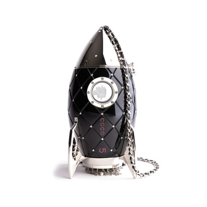 Authentic Second Hand Chanel Resin Rocket Minaudiere Bag (PSS-200-01658)