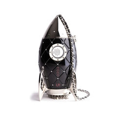 Resin Rocket Minaudiere Bag