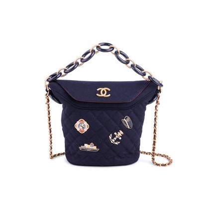 Authentic Second Hand Chanel Paris Hamburg Bucket Bag (PSS-200-01661)