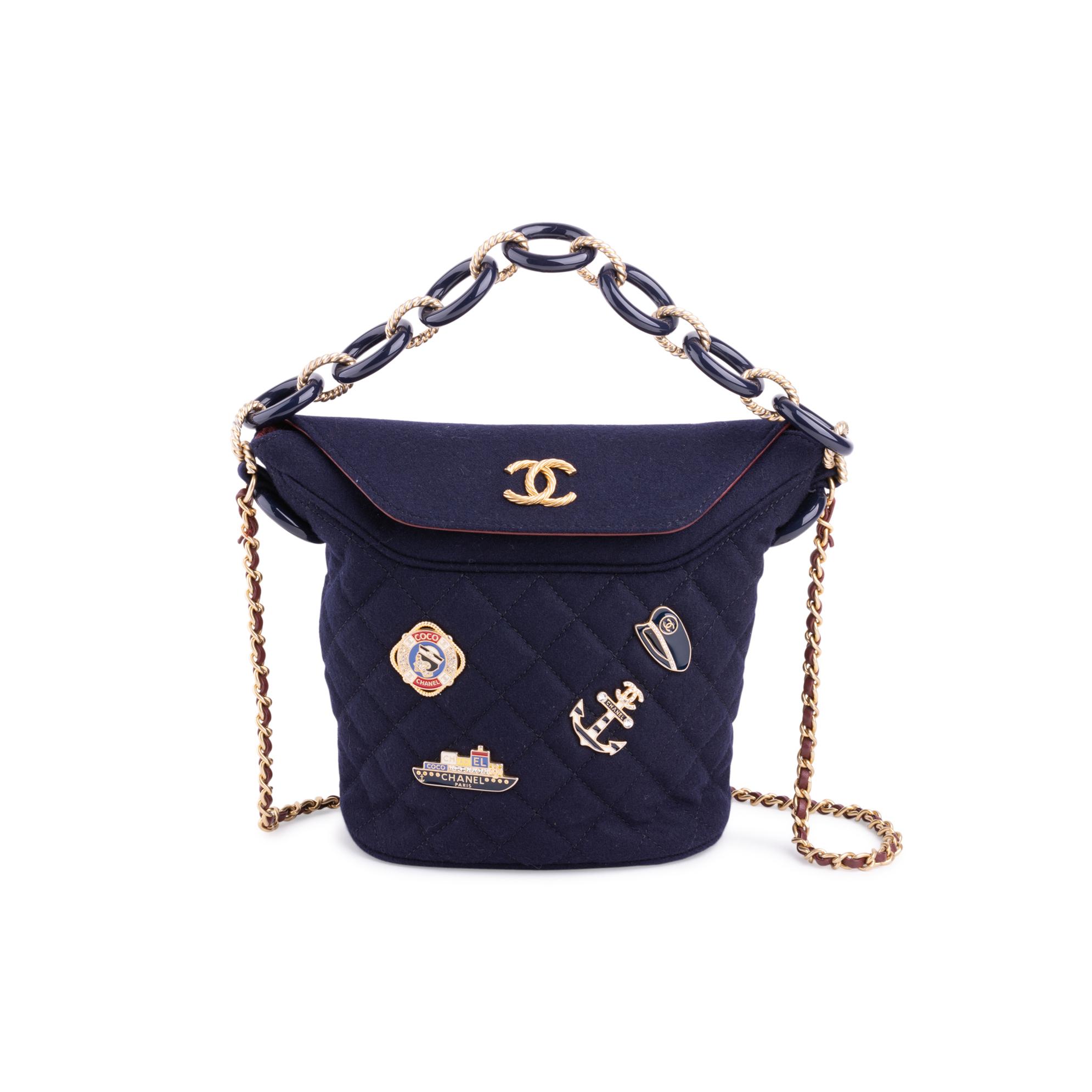 3c34d80e616e Authentic Second Hand Chanel Paris Hamburg Bucket Bag (PSS-200-01661 ...