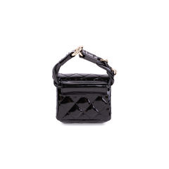 Chanel patent reissue anklet bag 2?1555050491