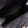 Authentic Second Hand Chanel Patent Reissue Anklet Bag (PSS-200-01662) - Thumbnail 6