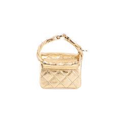 Chanel gold reissue anklet bag 2?1555050621