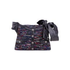 Small Tweed and Lambskin Girl Bag