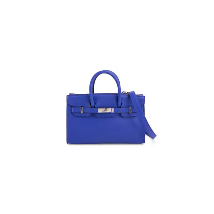 Authentic Second Hand Hermès Bleu Electrique Micro Birkin (PSS-200-01653)