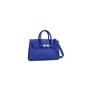 Authentic Second Hand Hermès Bleu Electrique Micro Birkin (PSS-200-01653) - Thumbnail 2